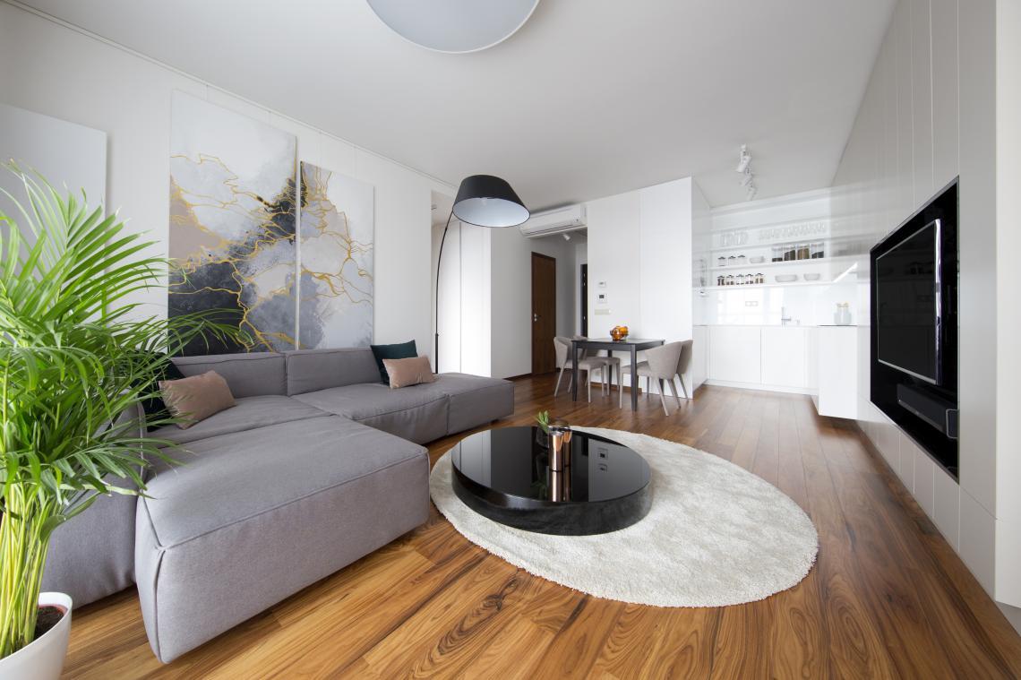 Interior design of the apartment panoramacity bratislava slovakia