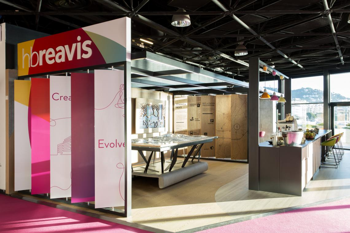 Exhibition Stand Regulations : Exhibition stand hb reavis mapic cannes france