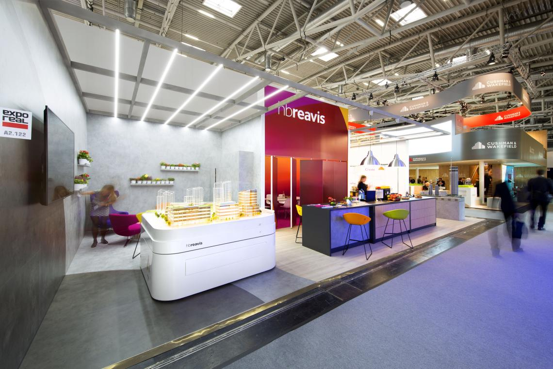 Exhibition Stand Regulations : Exhibition stand hb reavis expo real munich germany