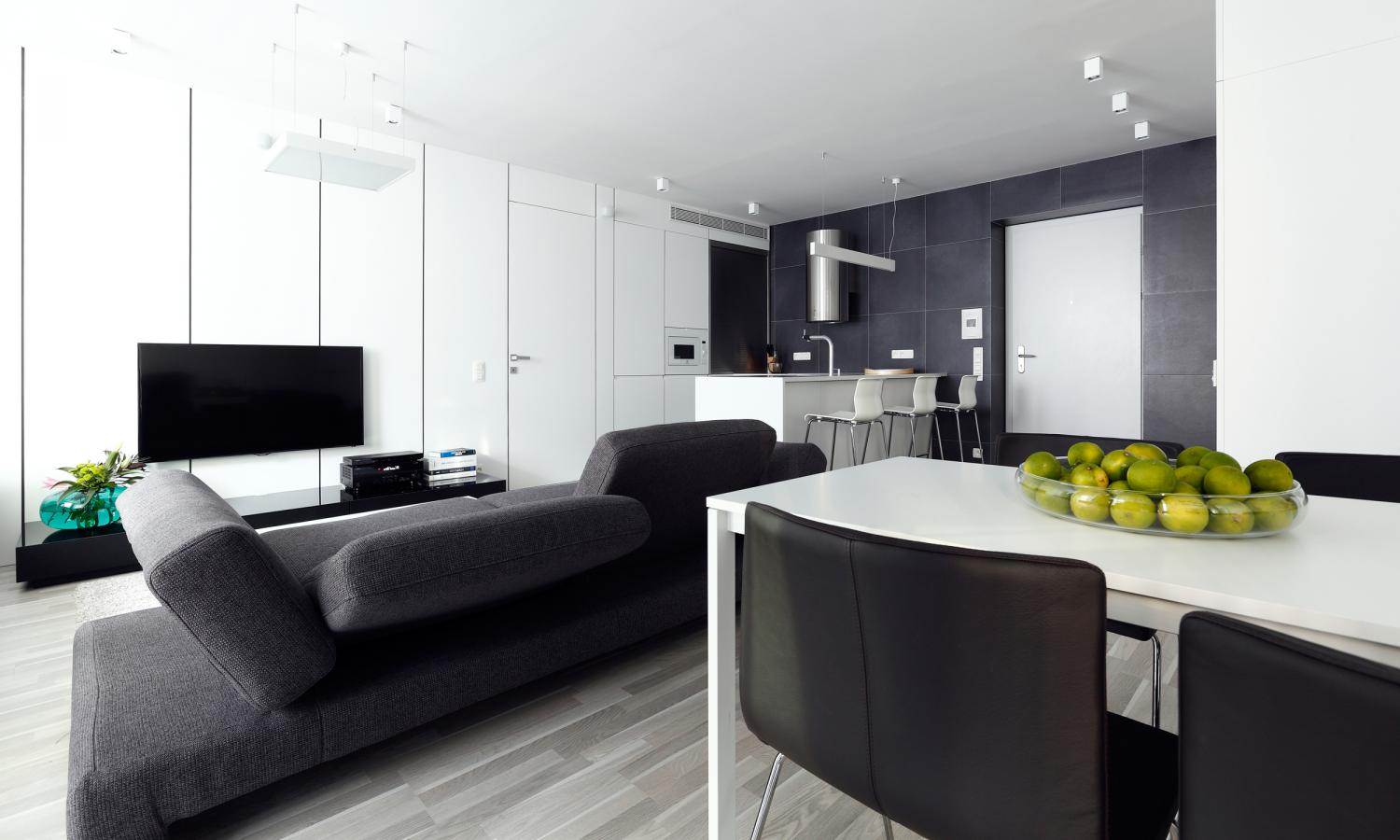 Apartment with two separate residential units bratislava for Separate kitchen units