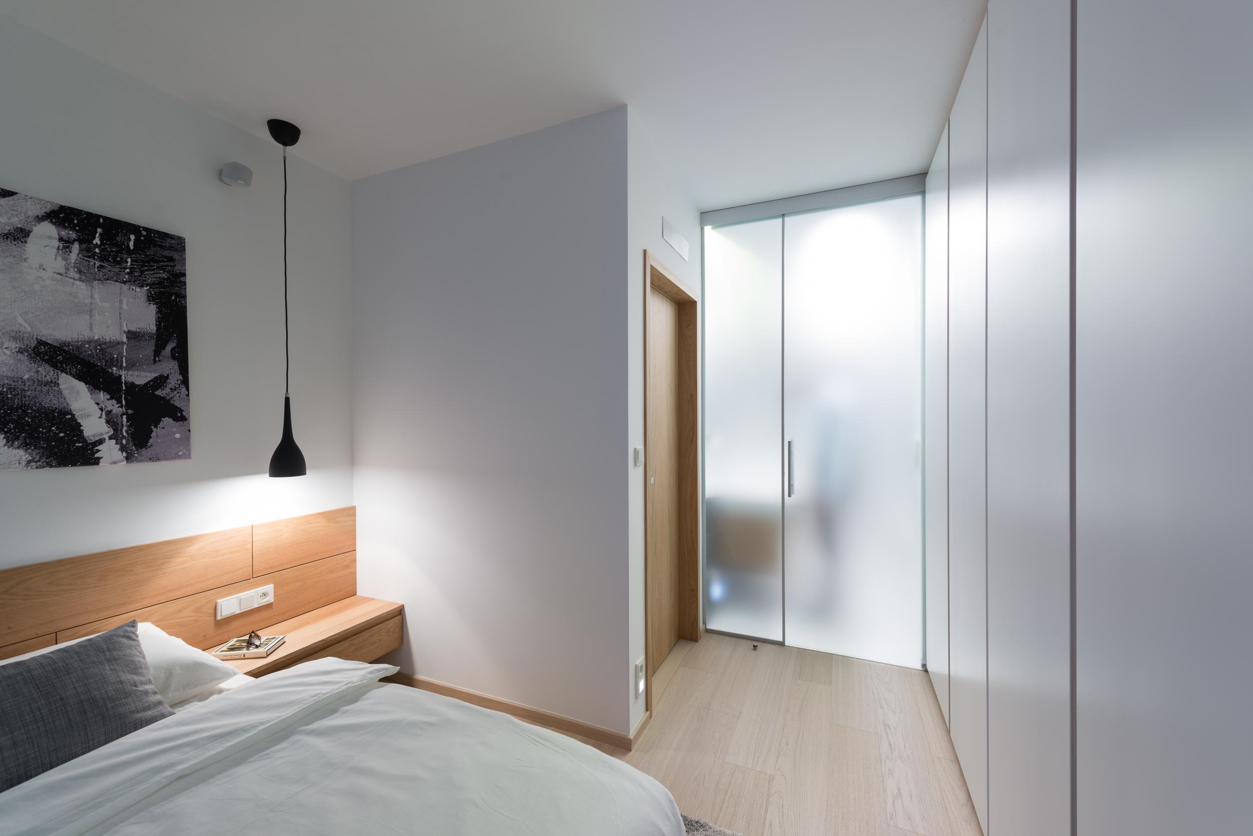Interior design of a two bedroom apartment bratislava for Bathroom interior design rules