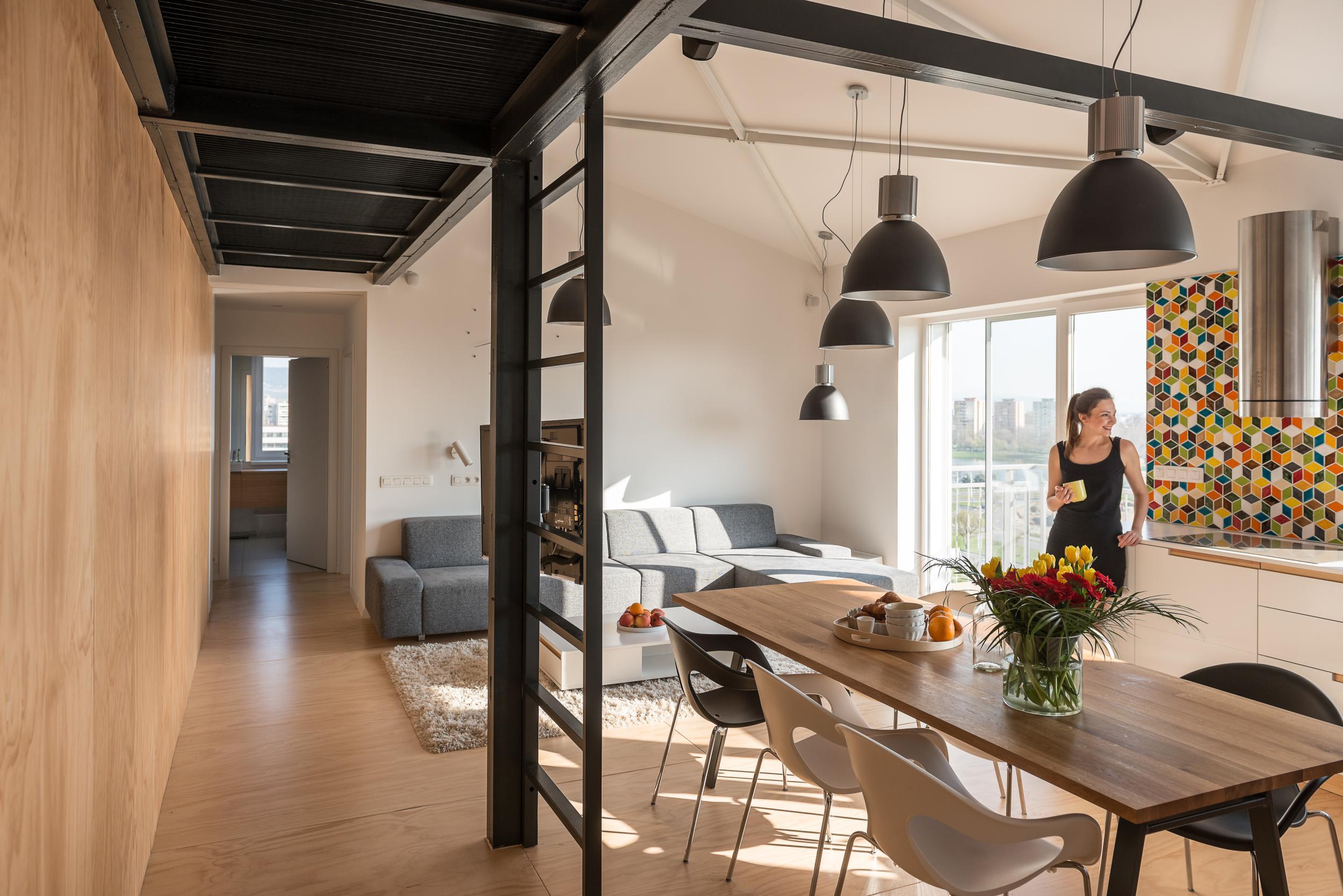 Loft apartment in superstructure, Bratislava, Slovakia | RULES ...