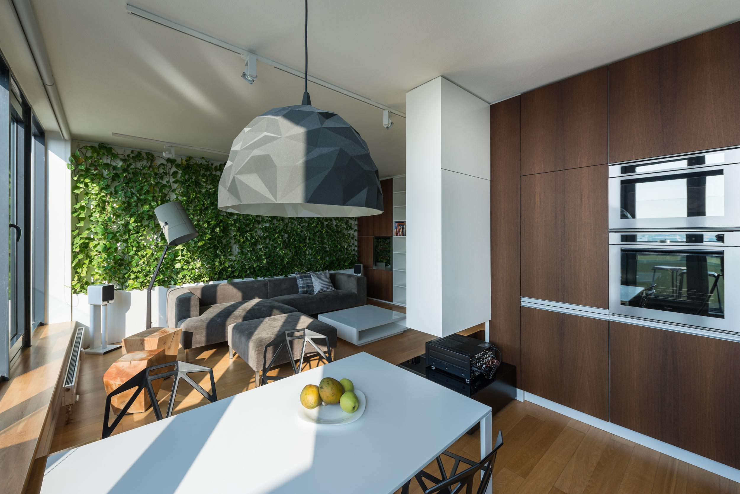 Wenge Living Room Furniture Three Bedroom Maisonette Bratislava Slovakia Rules Architects