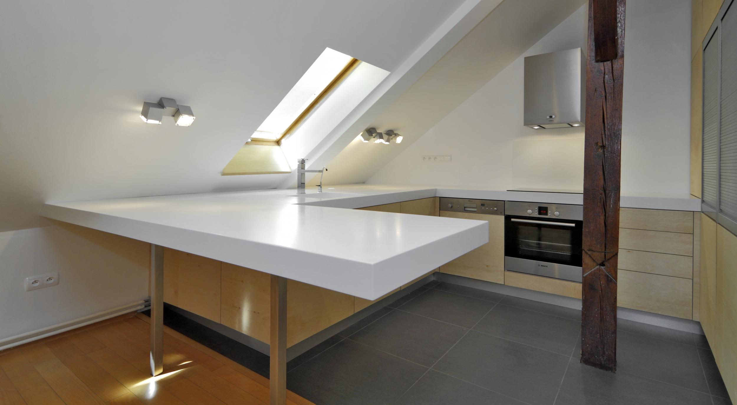 Attic Kitchen Attic Kitchen Bratislava Slovakia Rules Architects