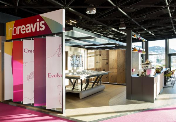 Exhibition stand HB Reavis Mapic 2017, Cannes, France