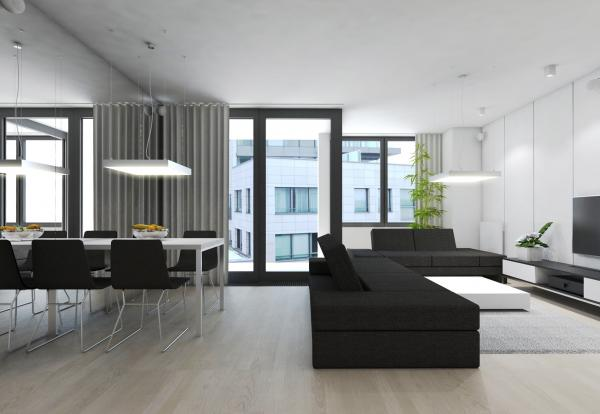 Apartment with two separate residential units, Bratislava, Slovakia